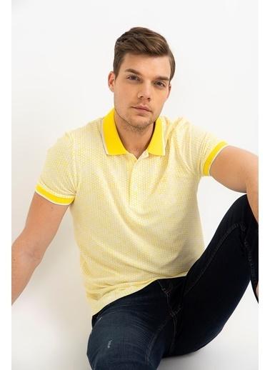 Avva Tişört Sarı